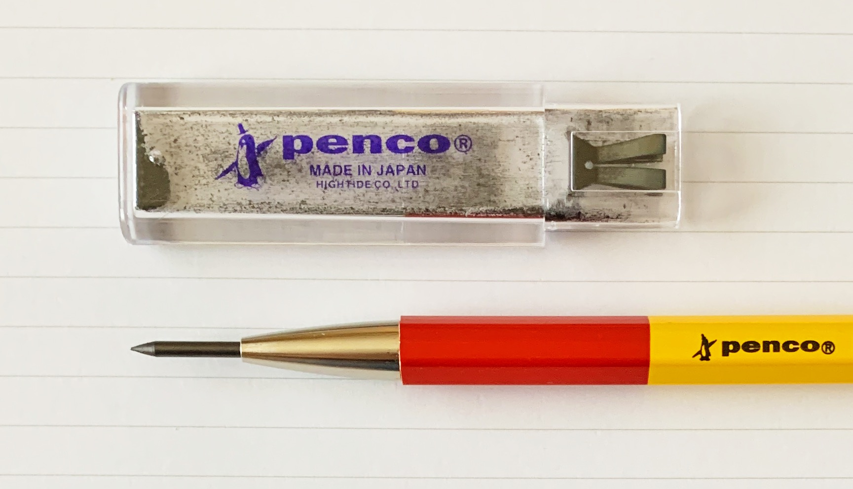 Penco Prime Timber 2.0 mm Mechanical Pencil Tip Pointer