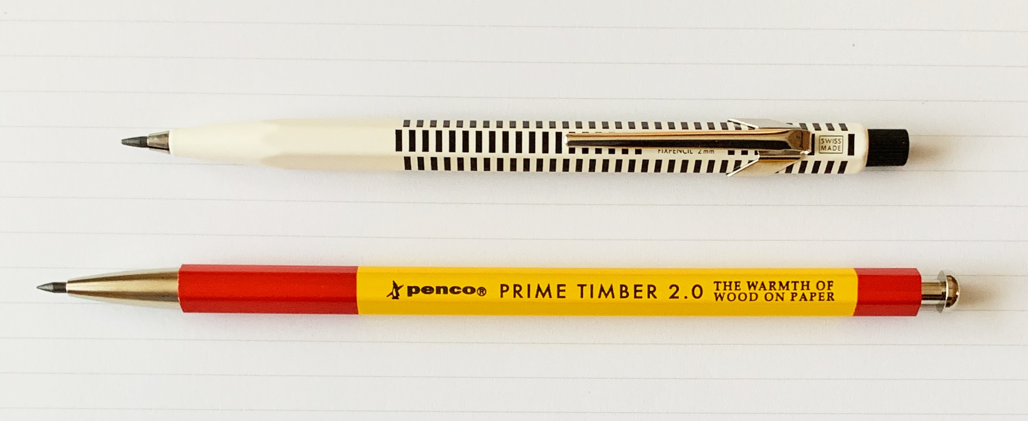 Penco Prime Timber 2.0 mm Mechanical Pencil Fixpencil