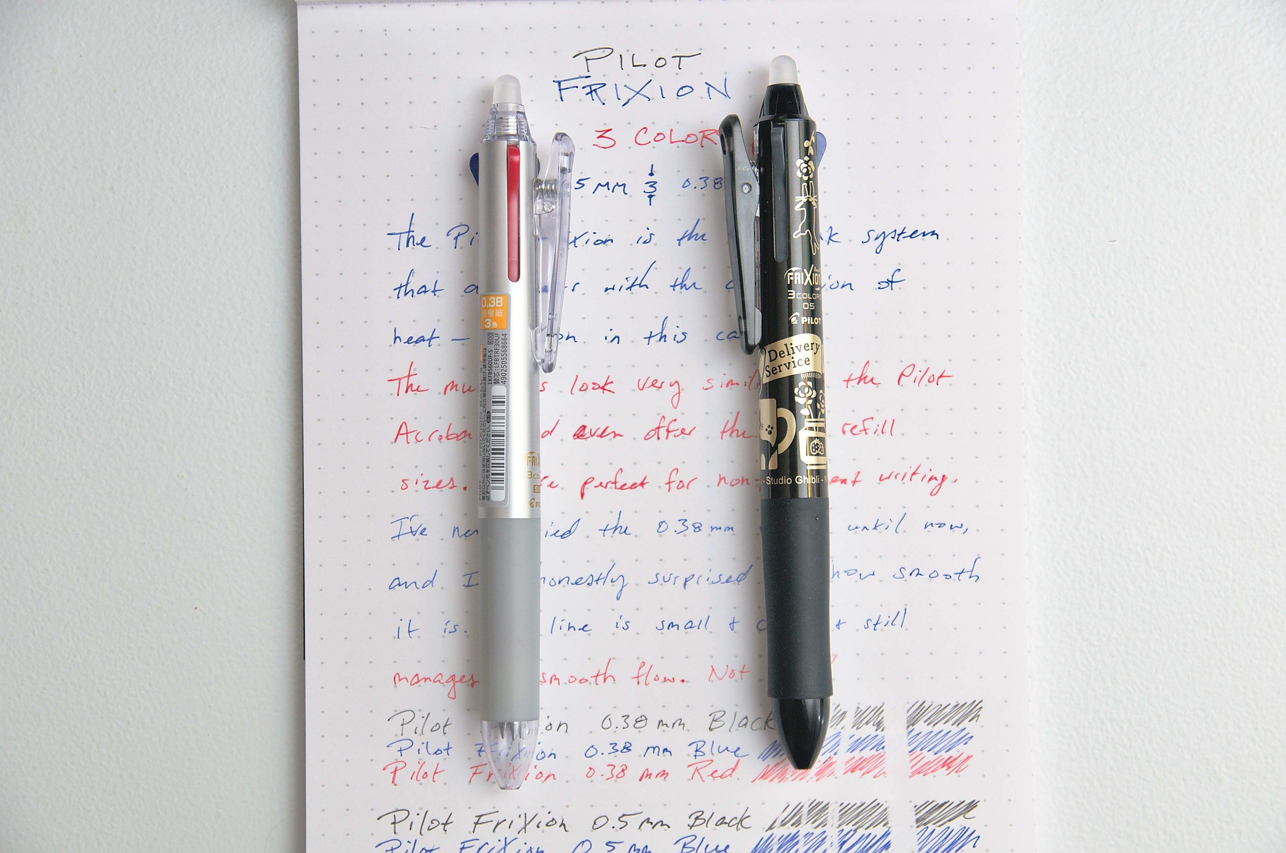 Pilot Frixion Ball 3 Multi-Pen Studio Ghibli Review