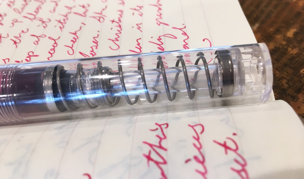 TWSBI GO Clear Fountain Pen Barrel