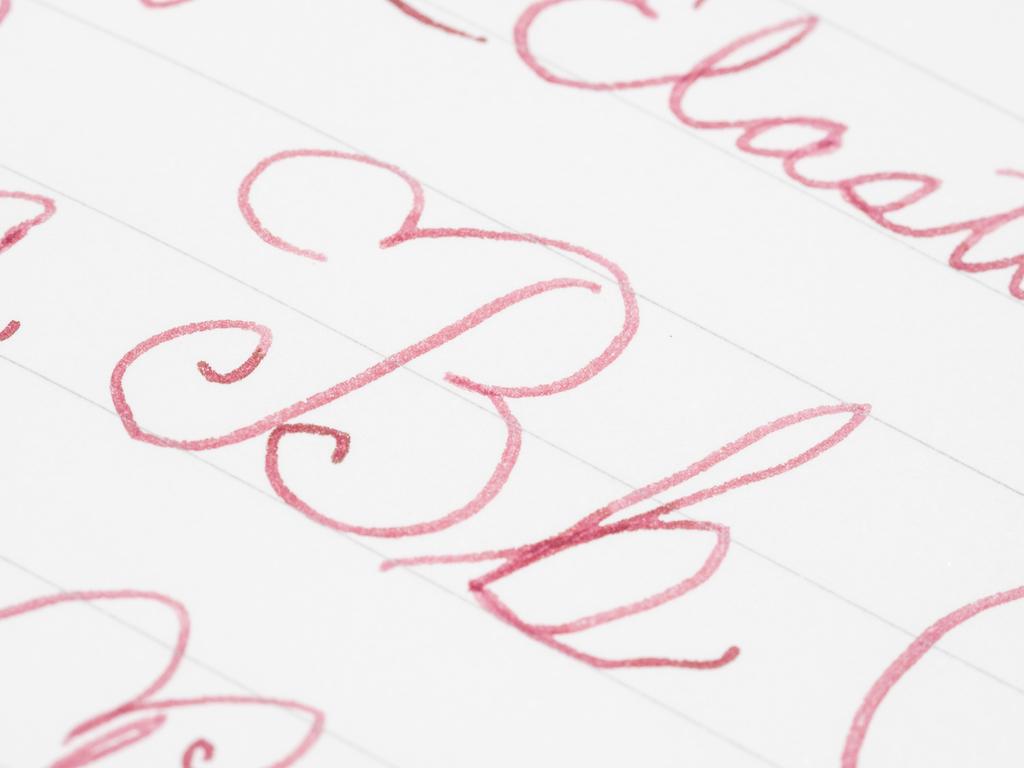 The ink used here is    Kyo-no-oto Adzuki-iro
