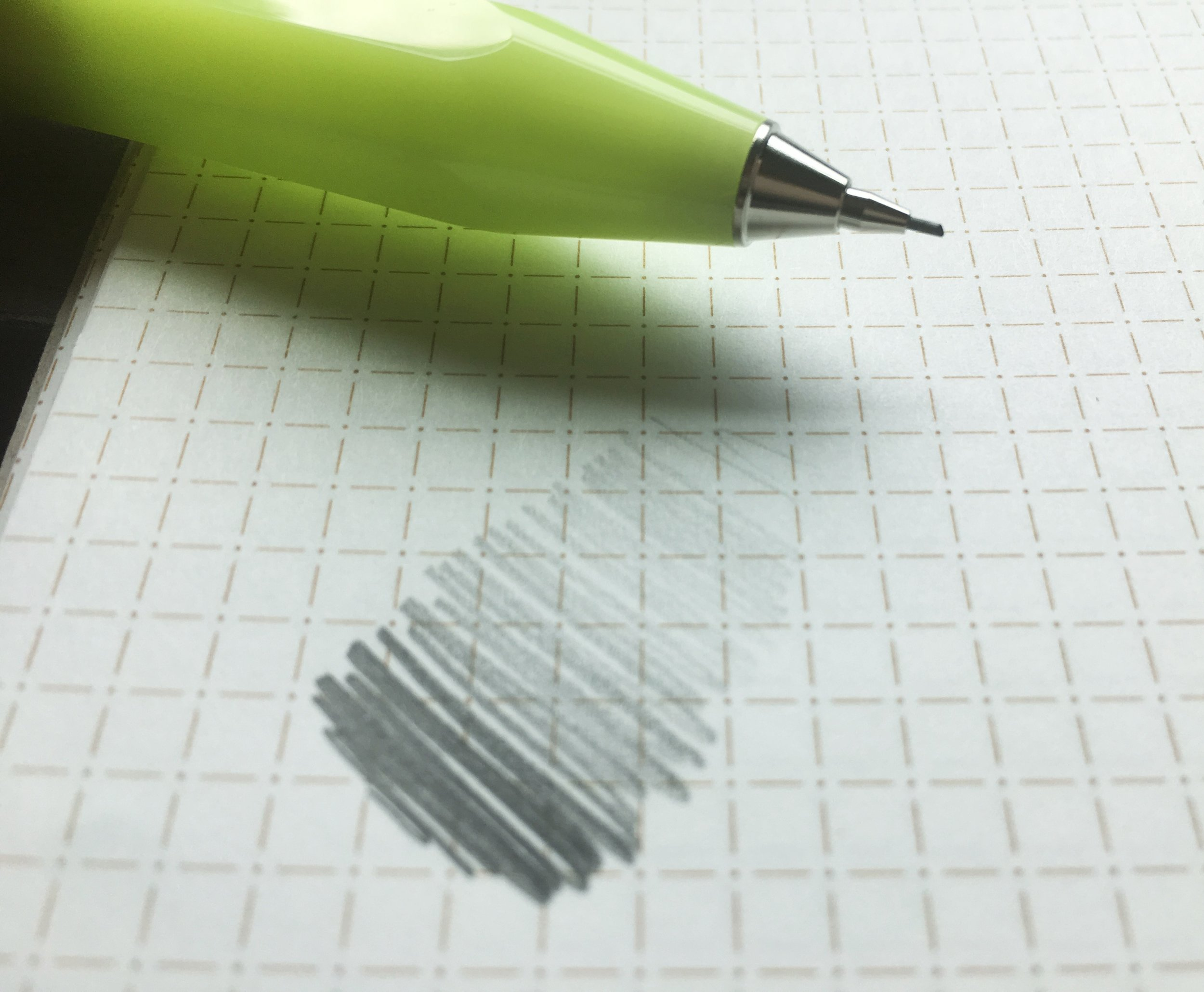 Kaweco Sport Mechanical Pencil Writing