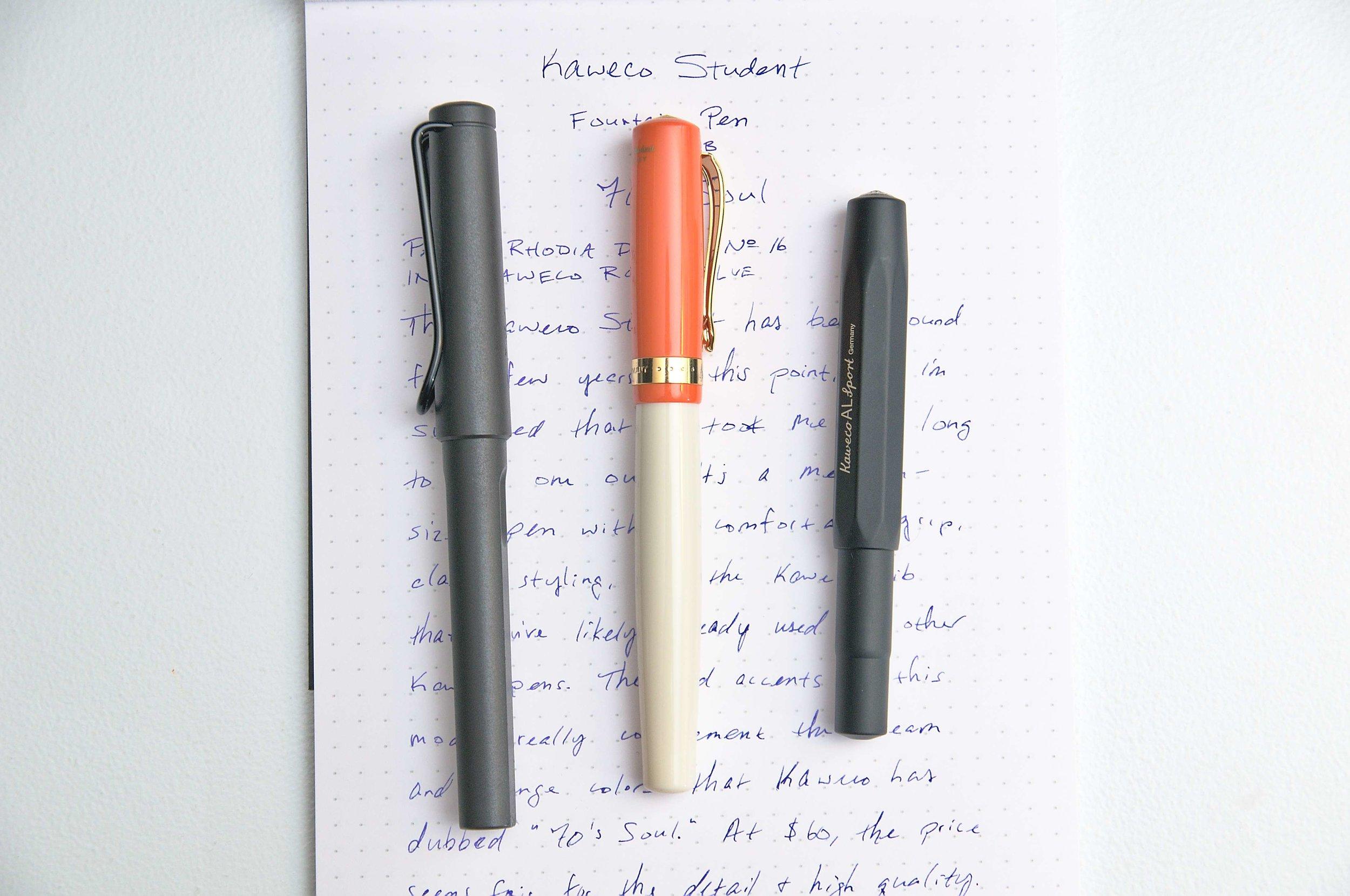 Kaweco Student Fountain Pen Comparison