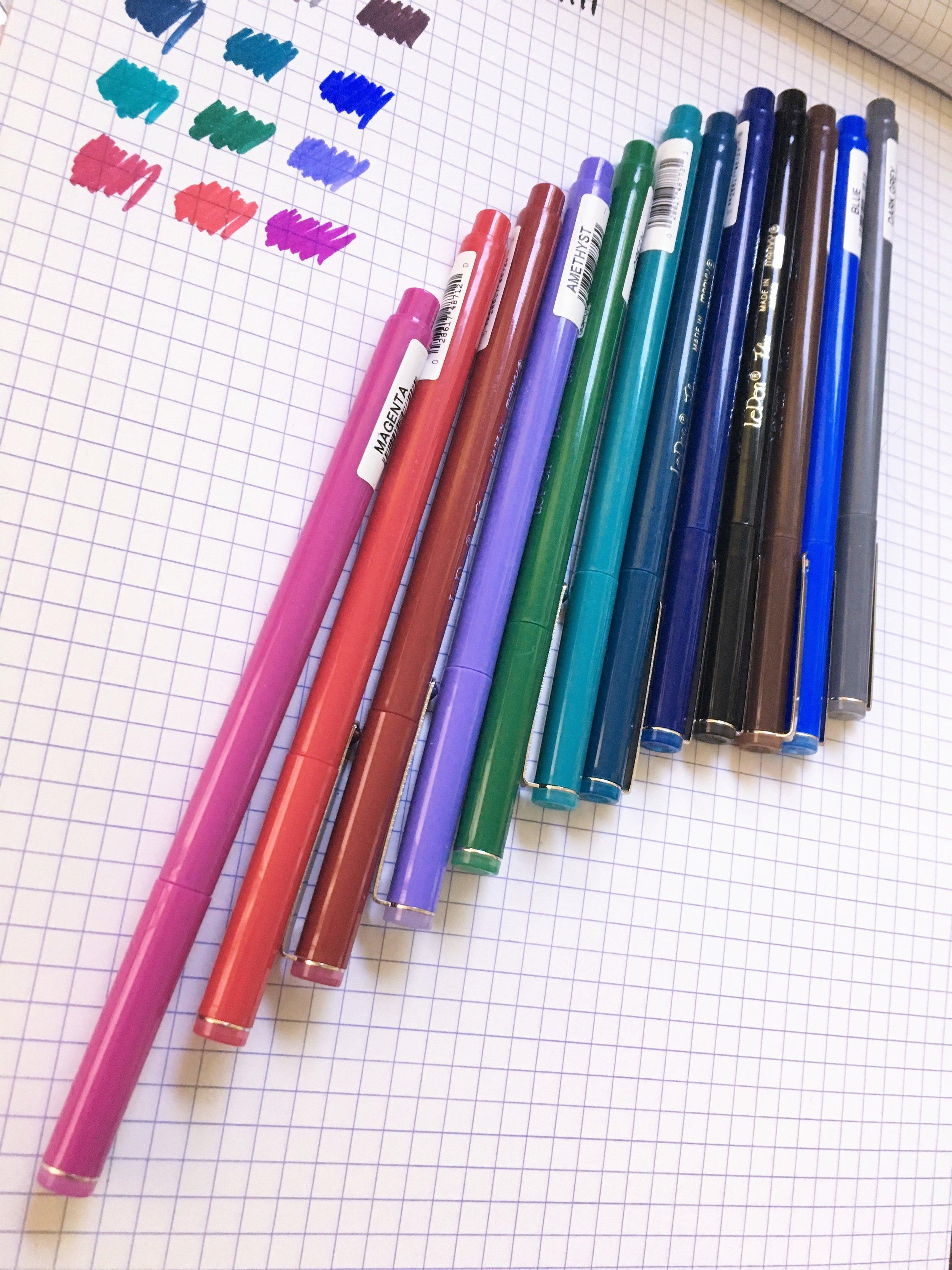 Marvy Le Pen Flex Brush Pen Review