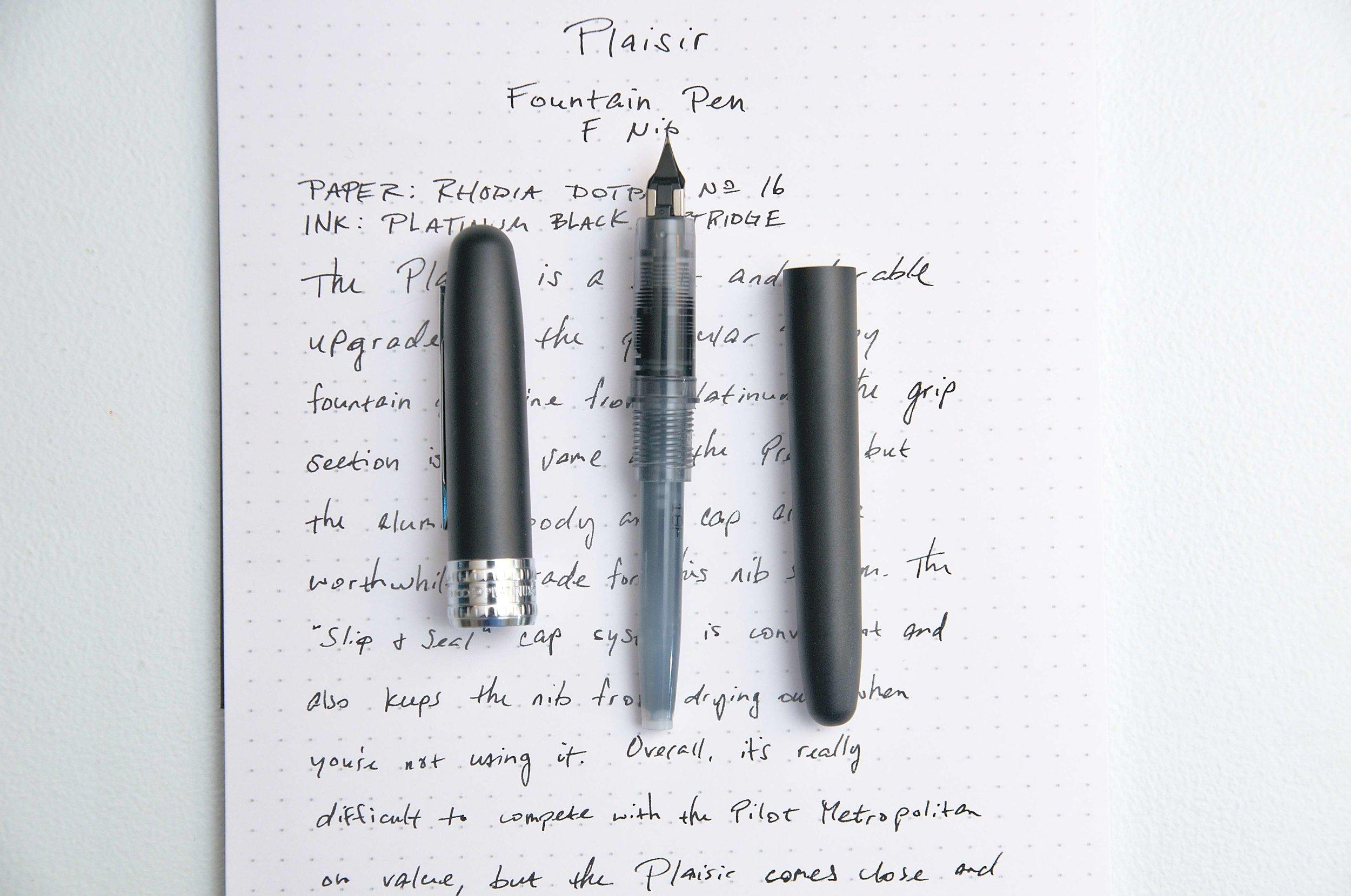 Platinum Plaisir Fountain Pen Barrel
