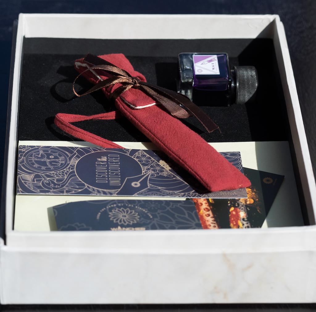 Wancher Shizuku Glass Nib Fountain Pen Packaging