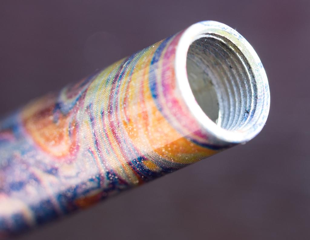 Wancher Shizuku Glass Nib Fountain Pen Metal