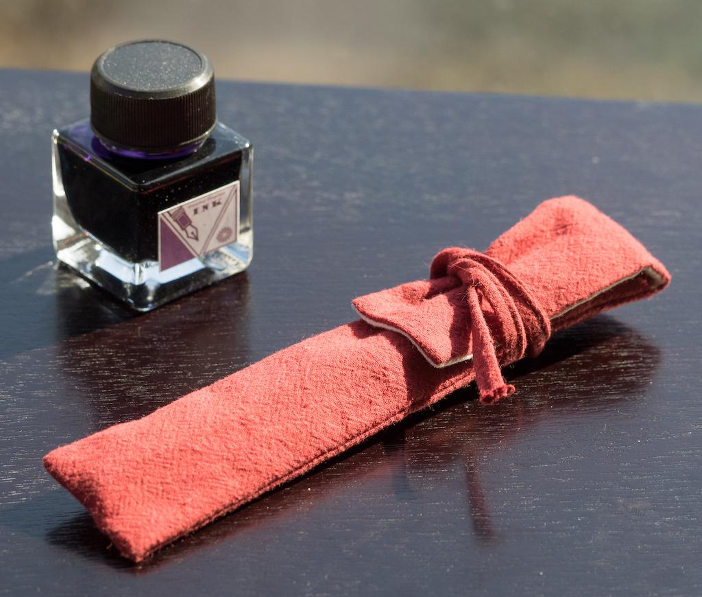 Wancher Shizuku Glass Nib Fountain Pen Wrap