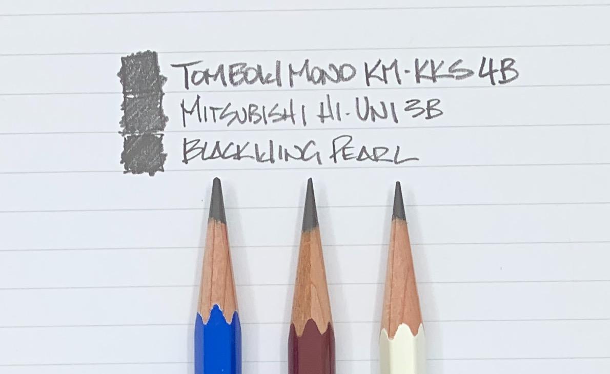 Tombow Mono KM-KKS 4B Pencil Writing