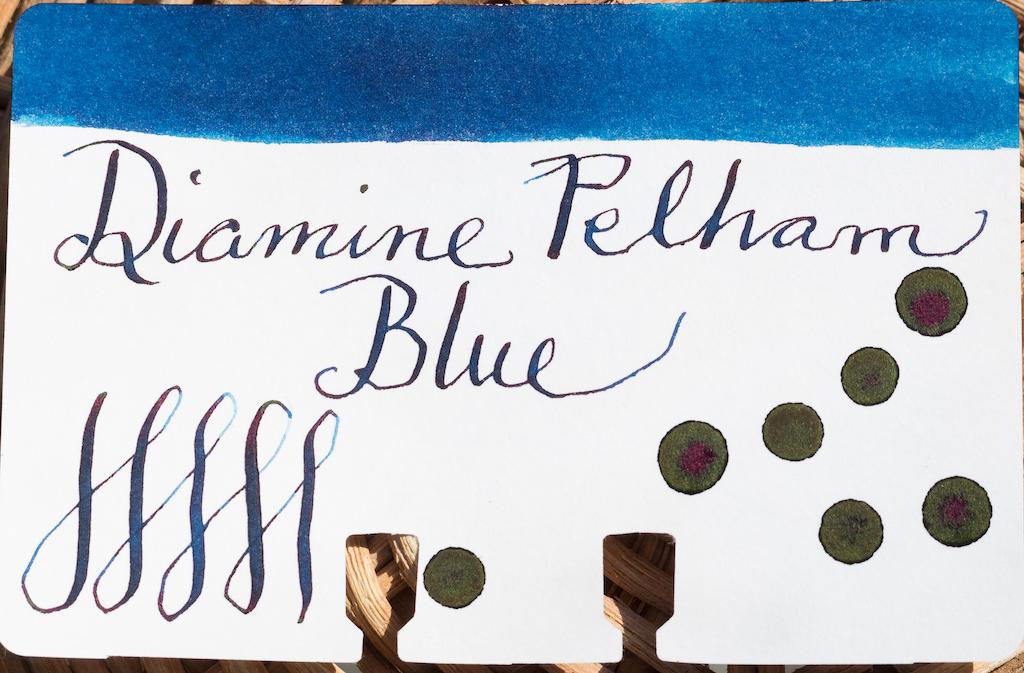 Diamine Gibson Pelham Blue Burst
