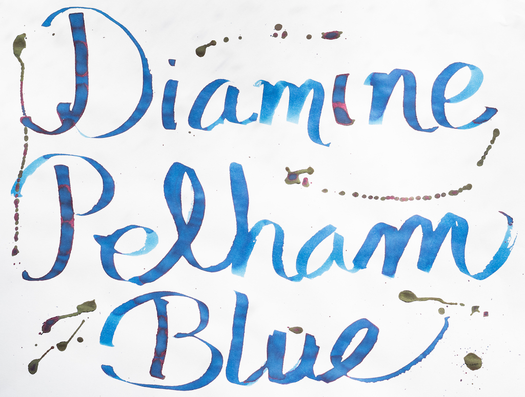 Diamine Gibson Pelham Blue Burst Writing