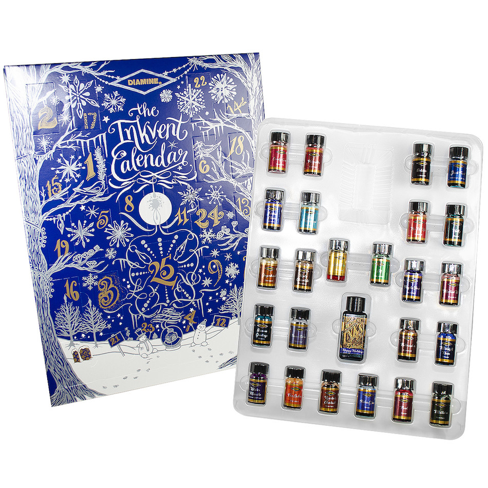 The Diamine Ink-Vent Calendar, via    Cult Pens   .