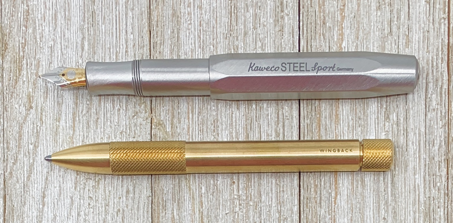 Wingback Mechanical Pen vs Kaweco