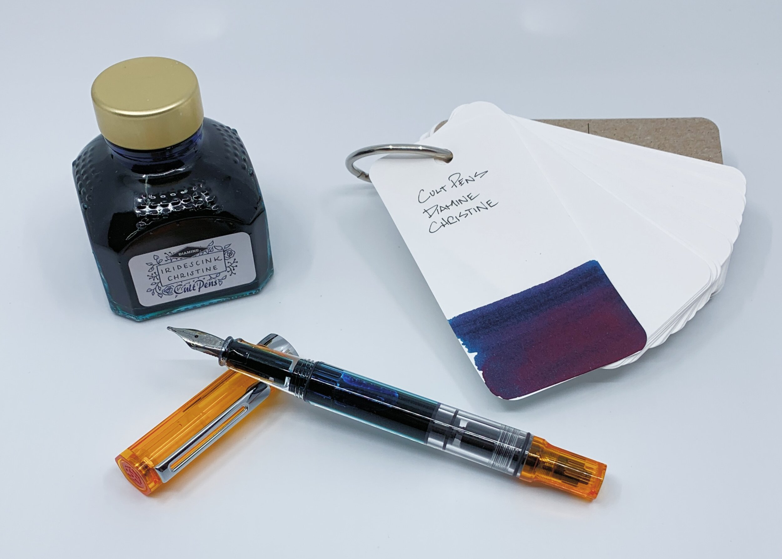 Cult Pens Diamine Christine Iridescink Review