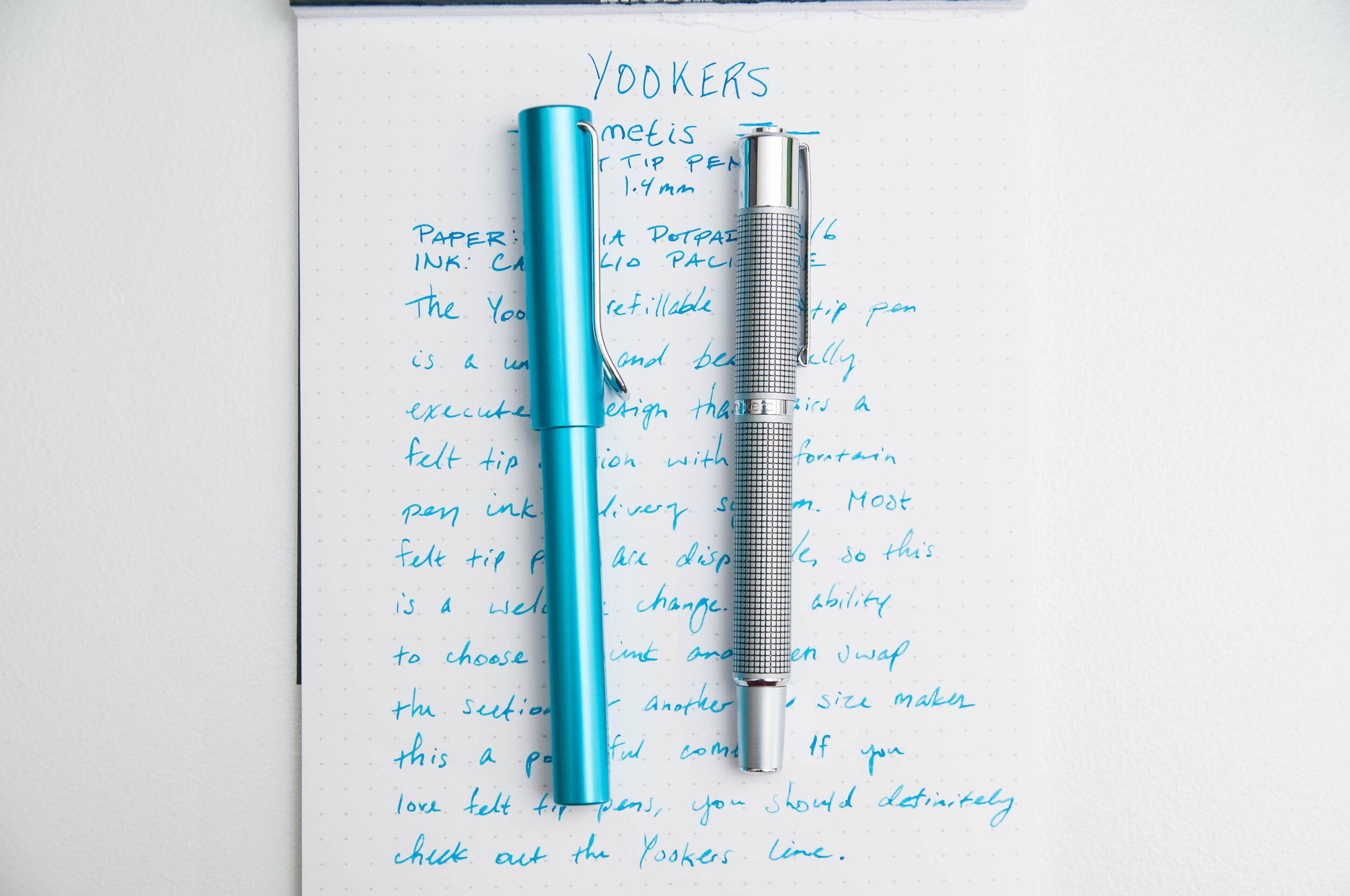 Yookers Metis Felt-tip Pen Comparison