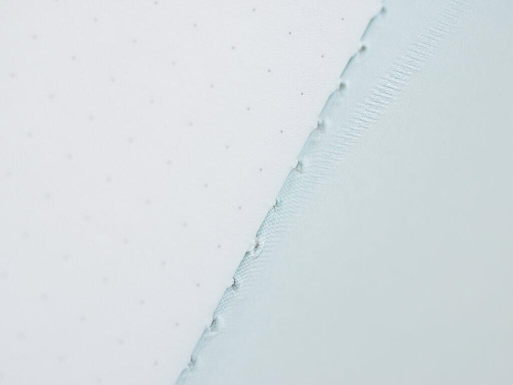 Pebble Stationery Co. Glacier Edition Pocket Notebook Stitching