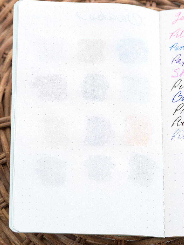 Pebble Stationery Co. Notebook Swab Back