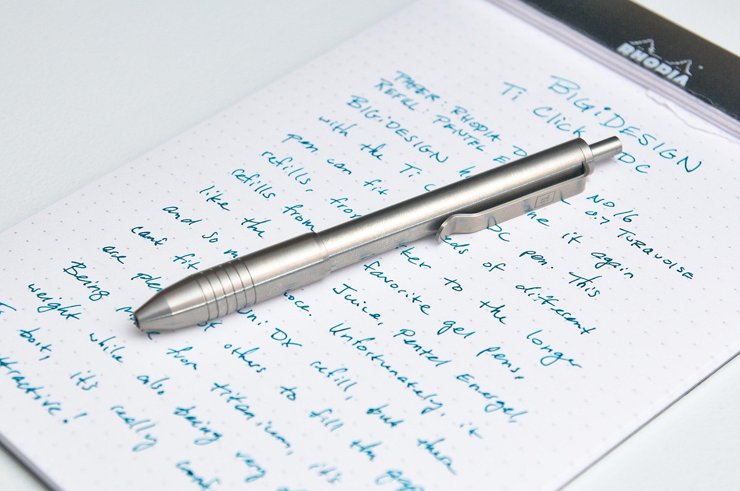 BIGiDESIGN Ti Click EDC Titanium Pen Review