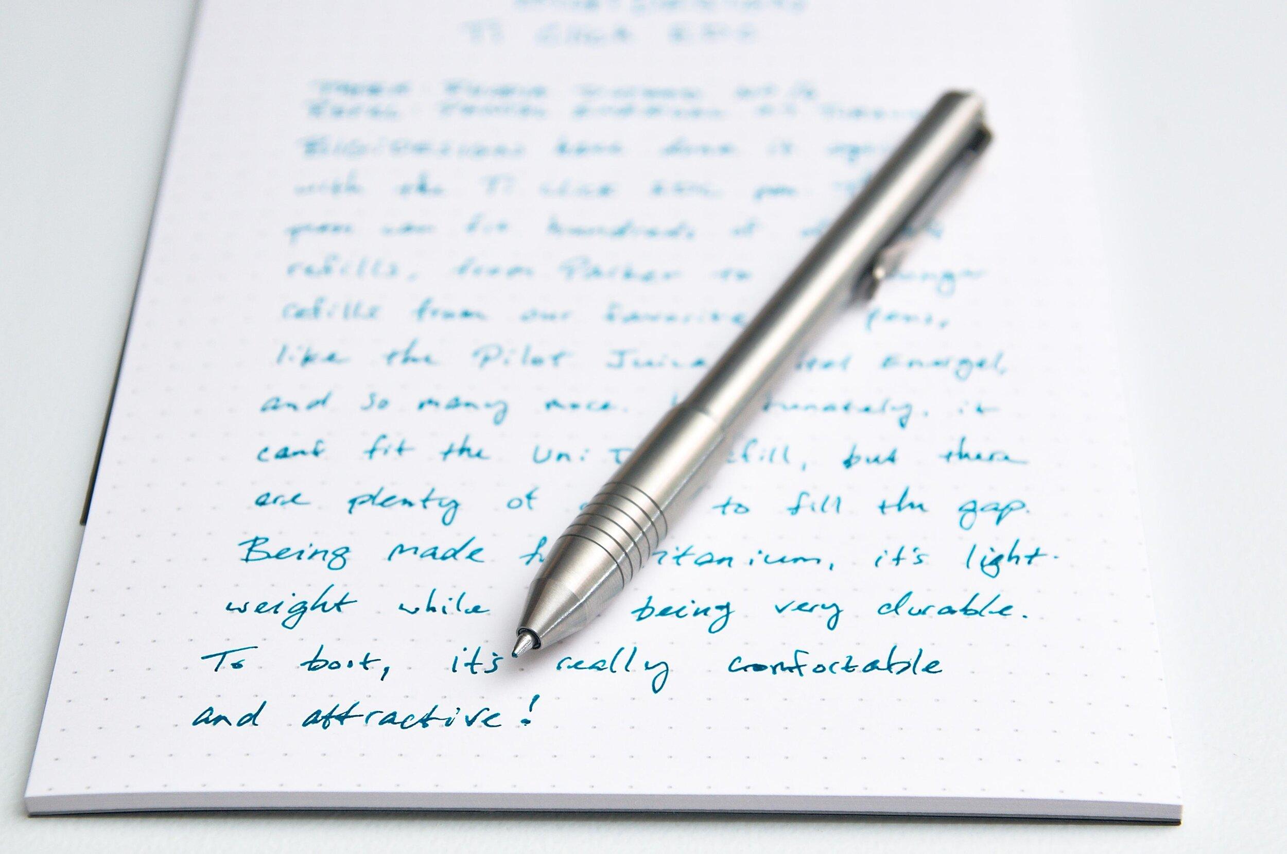 BIGiDESIGN Ti Click EDC Titanium Pen