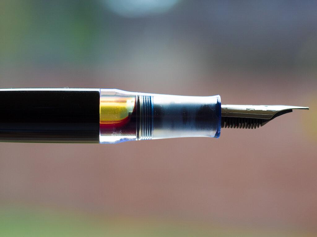 Karas Kustoms Vertex Fountain Pen Ink Window