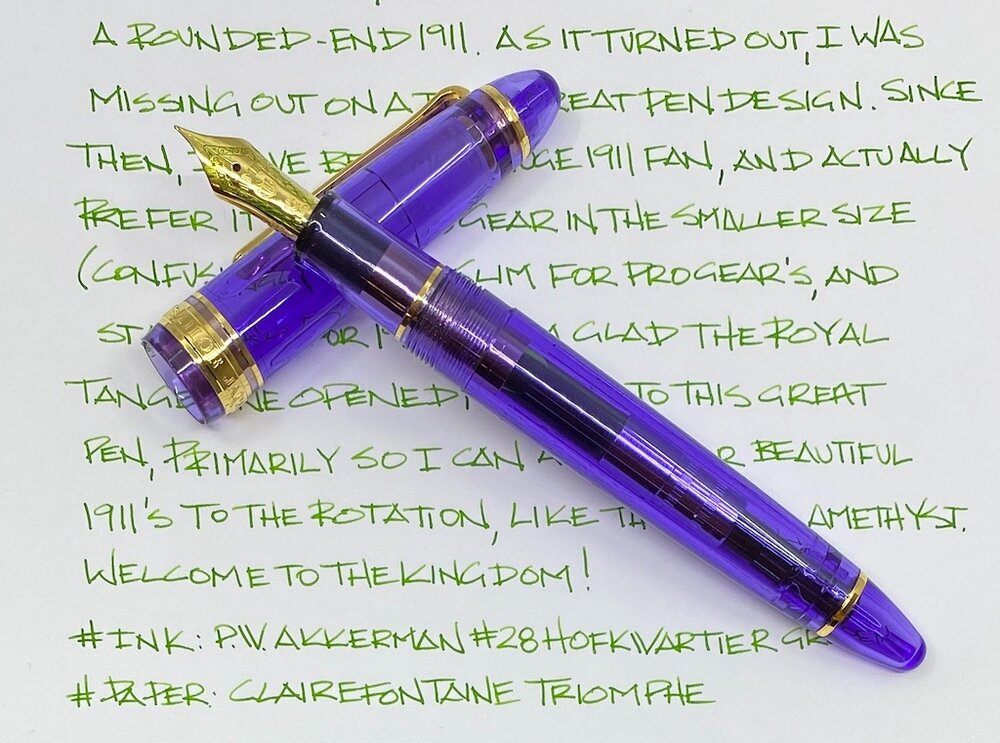 Sailor 1911 Standard Royal Amethyst Fountain Pen