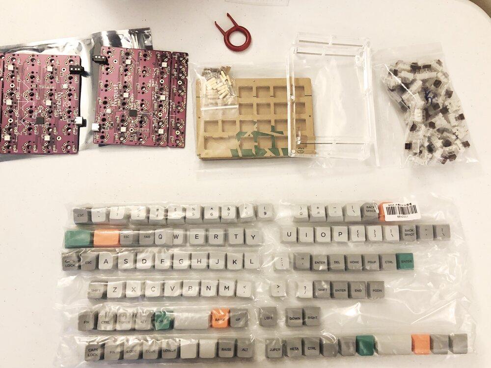 Custom Keyboard build