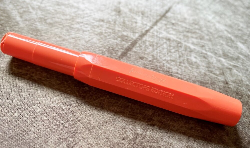 Kaweco Sport Coral Collectors Edition Fountain Pen Review