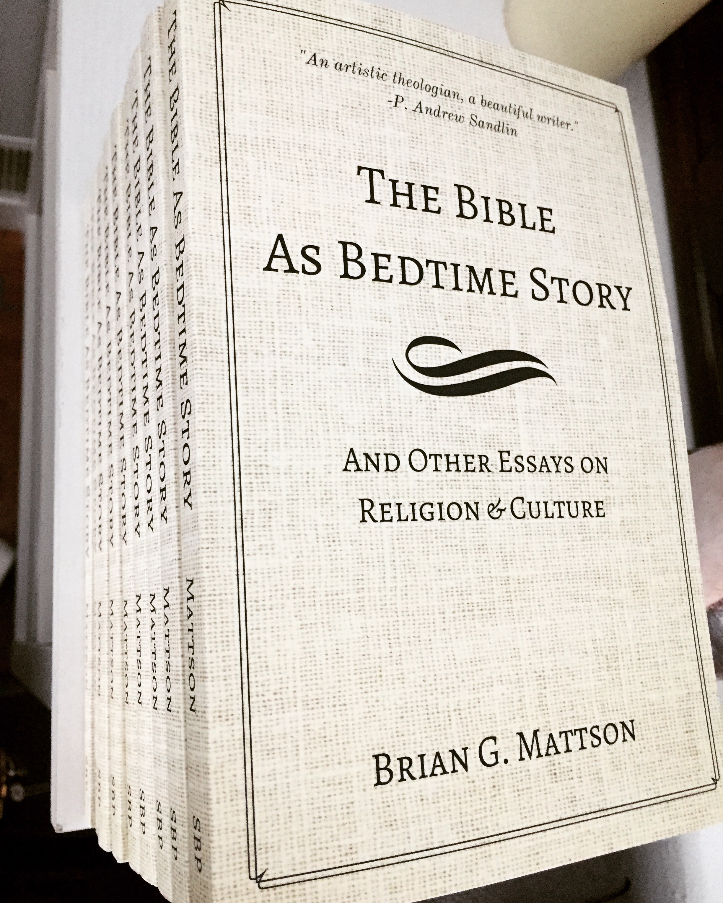 A collection of essays - Enjoy them one random chapter at a time, or have, as David Bahnsen calls it, a