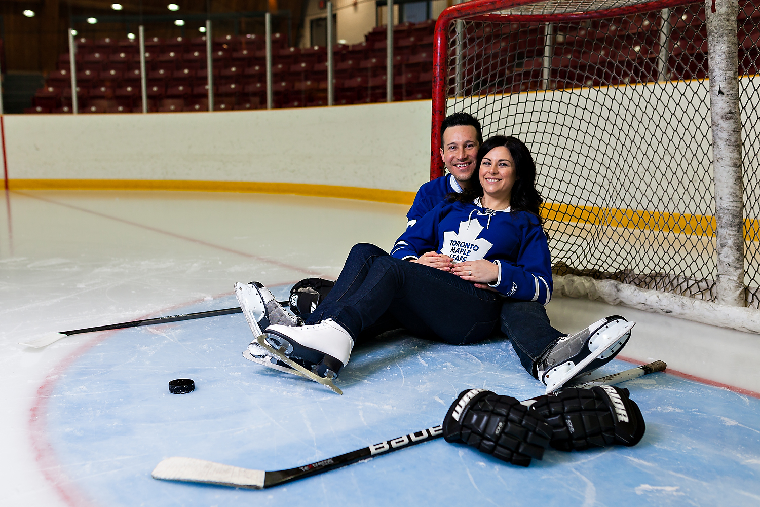 Toronto Wedding Photographer | NHL Engagement