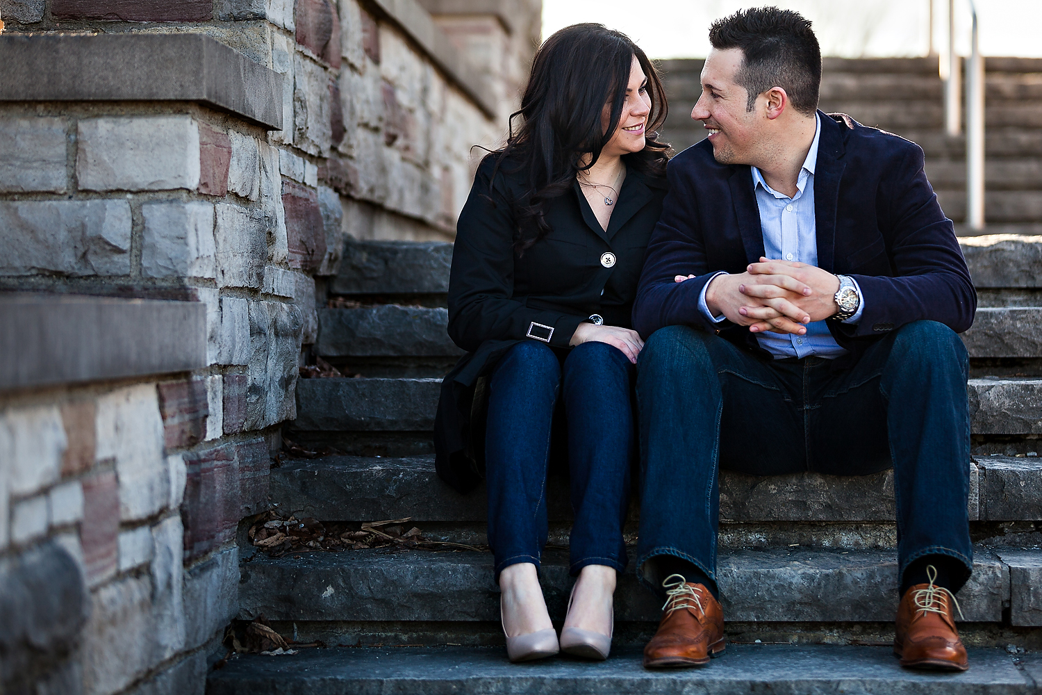Toronto Wedding Photographer Stunning Engagement
