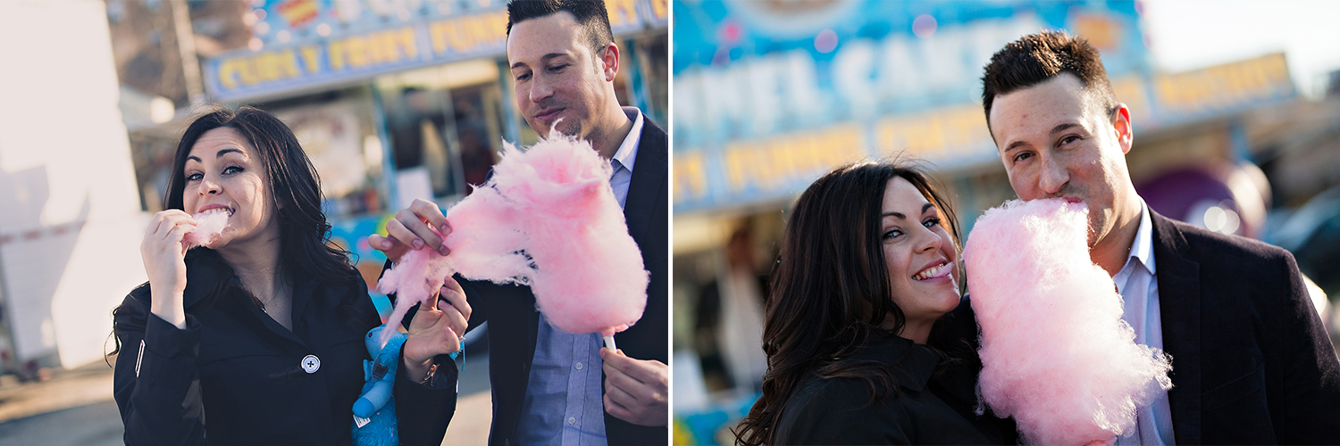 Toronto Wedding Photographer Cute Engagement Carnival