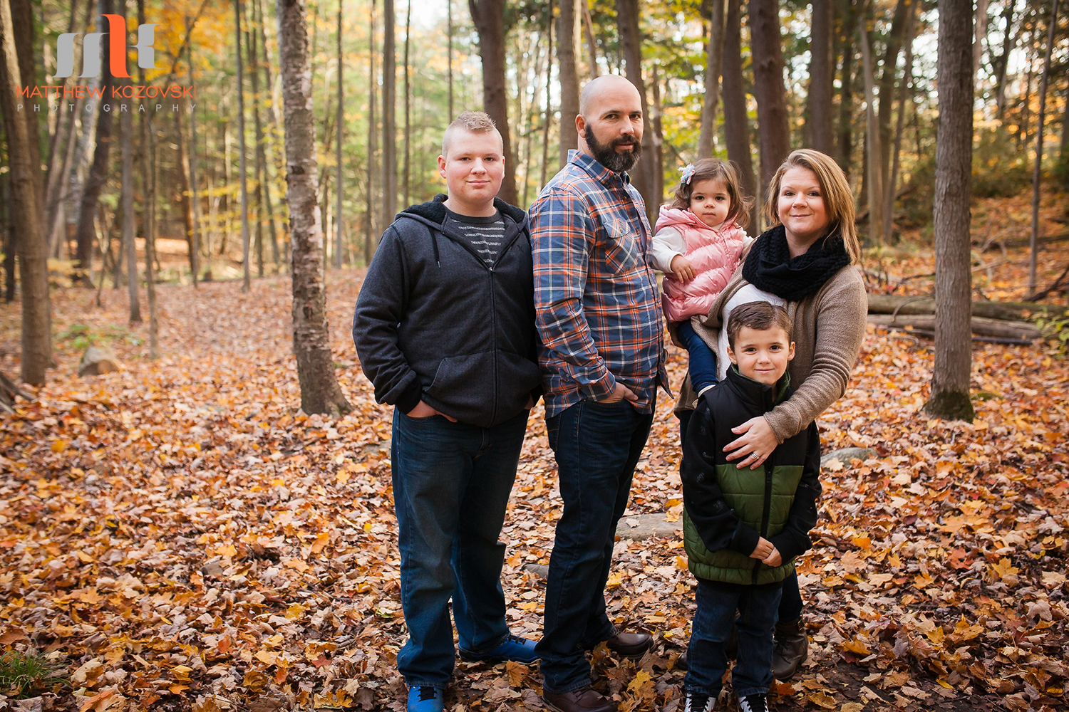 Toronto Portrait Photography Fall Family