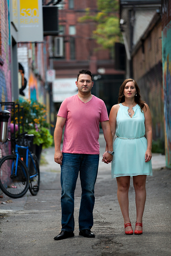 Fun Toronto Engagement