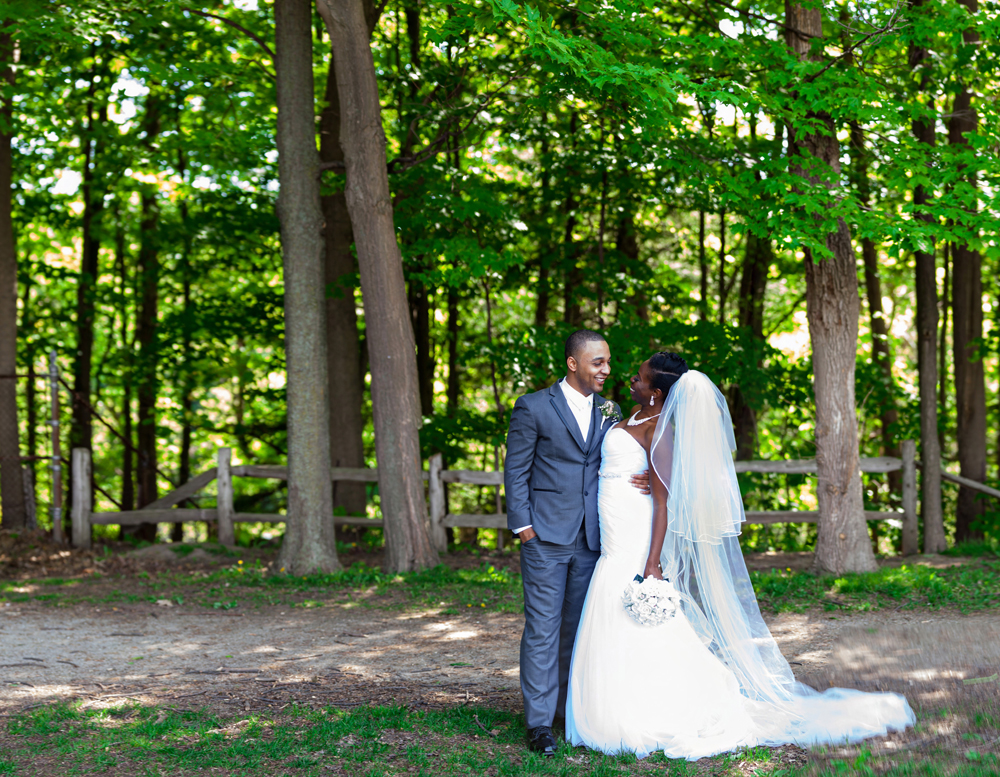 Toronto Wedding Beautiful Edwards Gardens