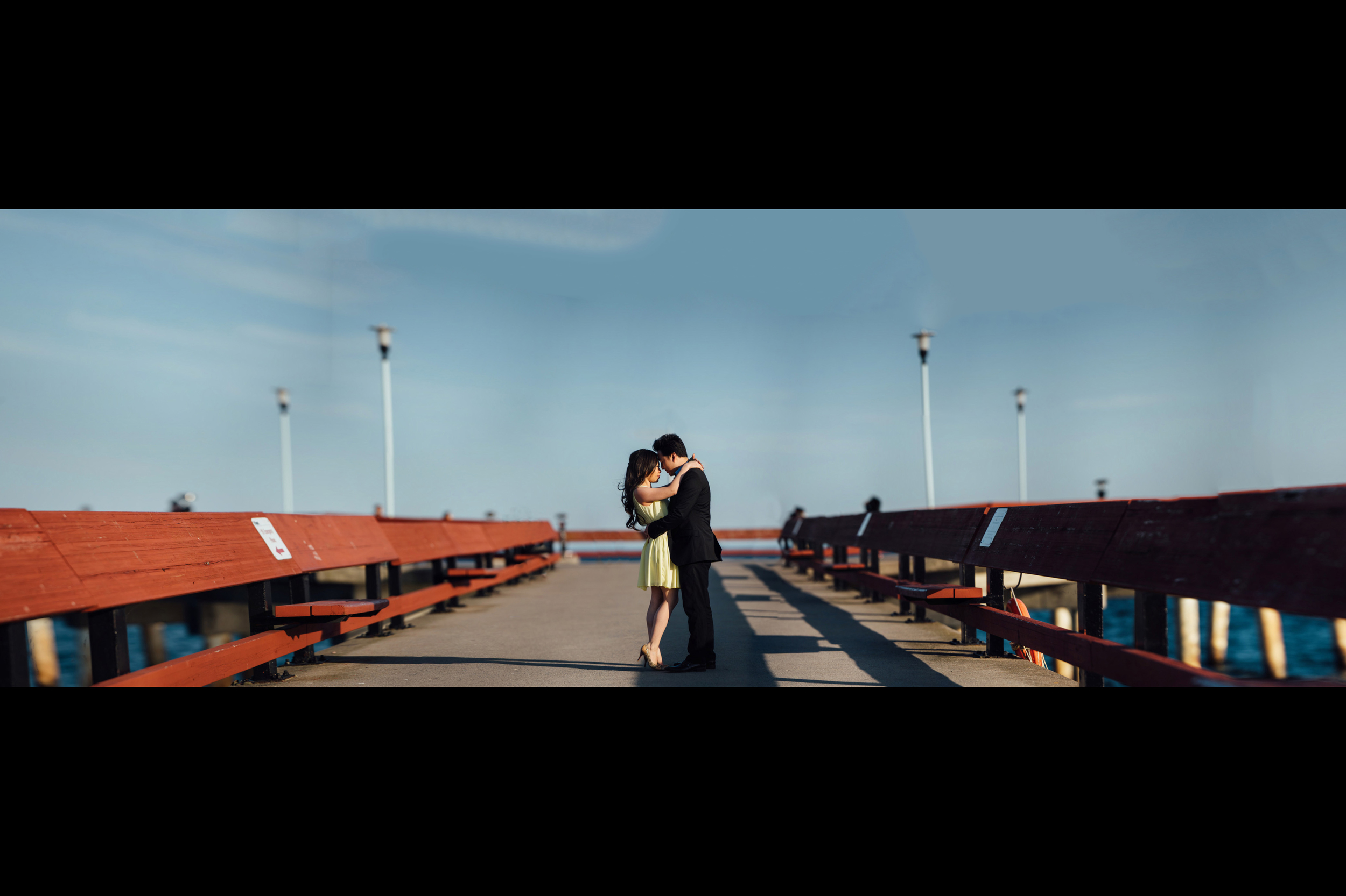 Amazing Toronto Island Engagement Photography