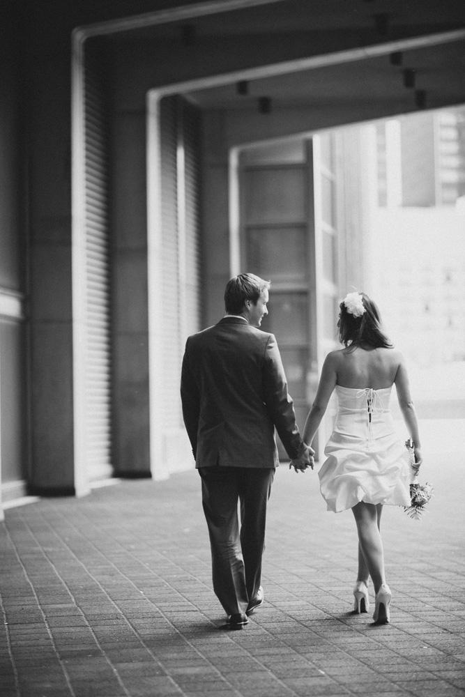 Romantic Toronto City Hall Wedding