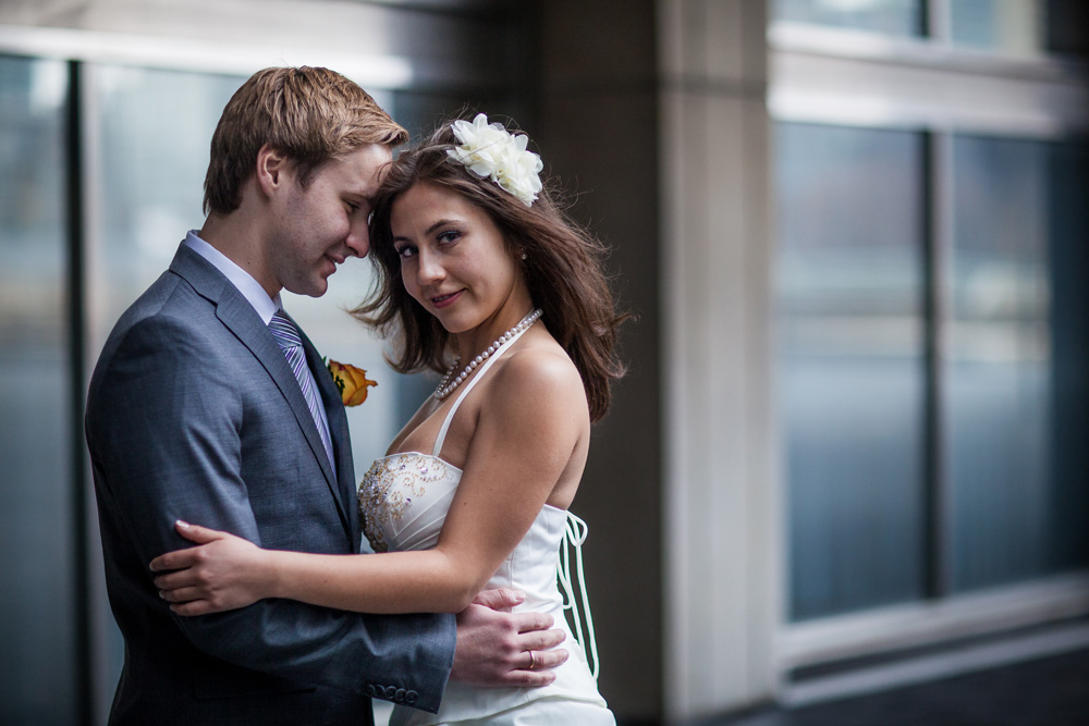 Toronto City Hall Bride