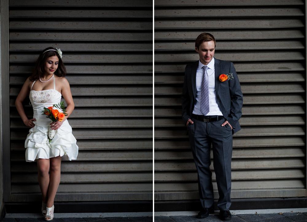 Toronto City Hall Bride and Groom