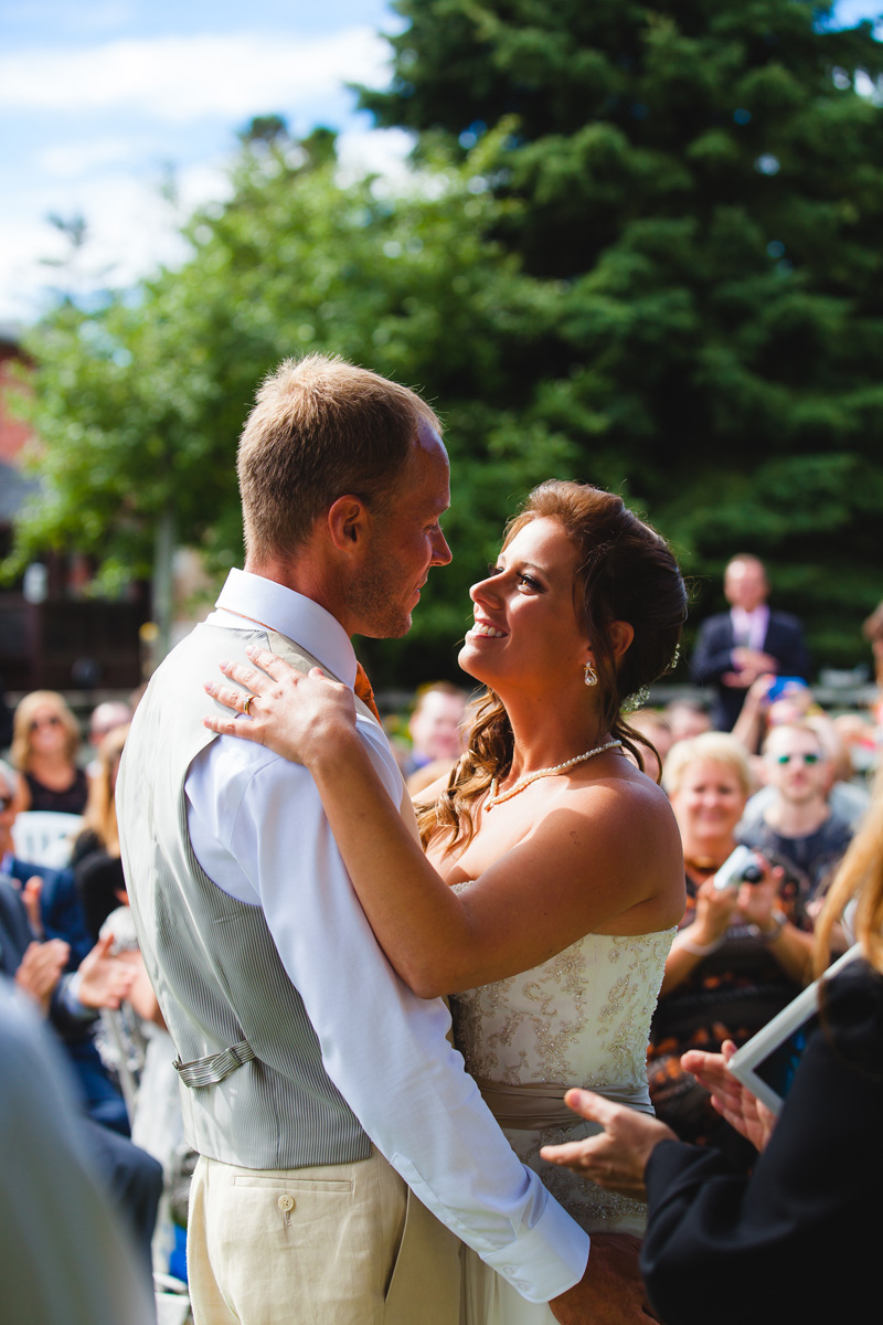 Toronto Backyard Wedding Photography