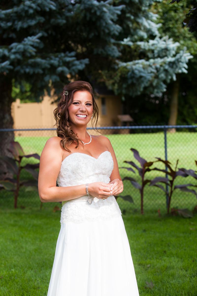Smiling Toronto Bride