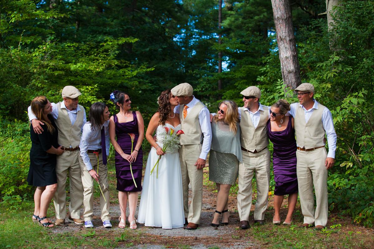 Toronto Backyard Wedding Party
