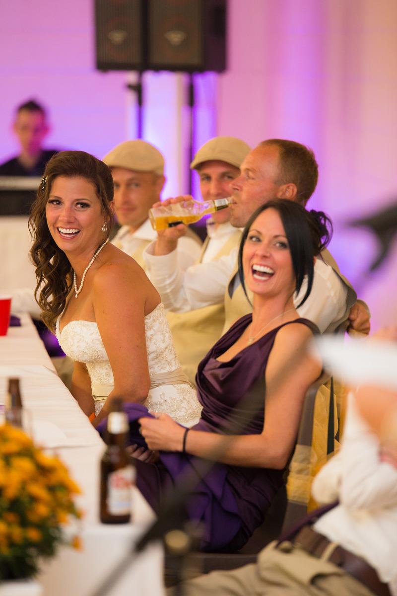 Laughing Toronto Bride Wedding