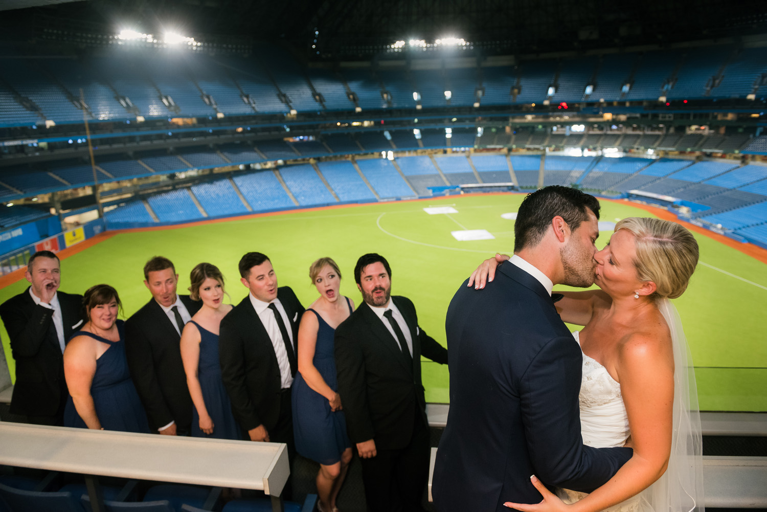 Blue Jays Wedding
