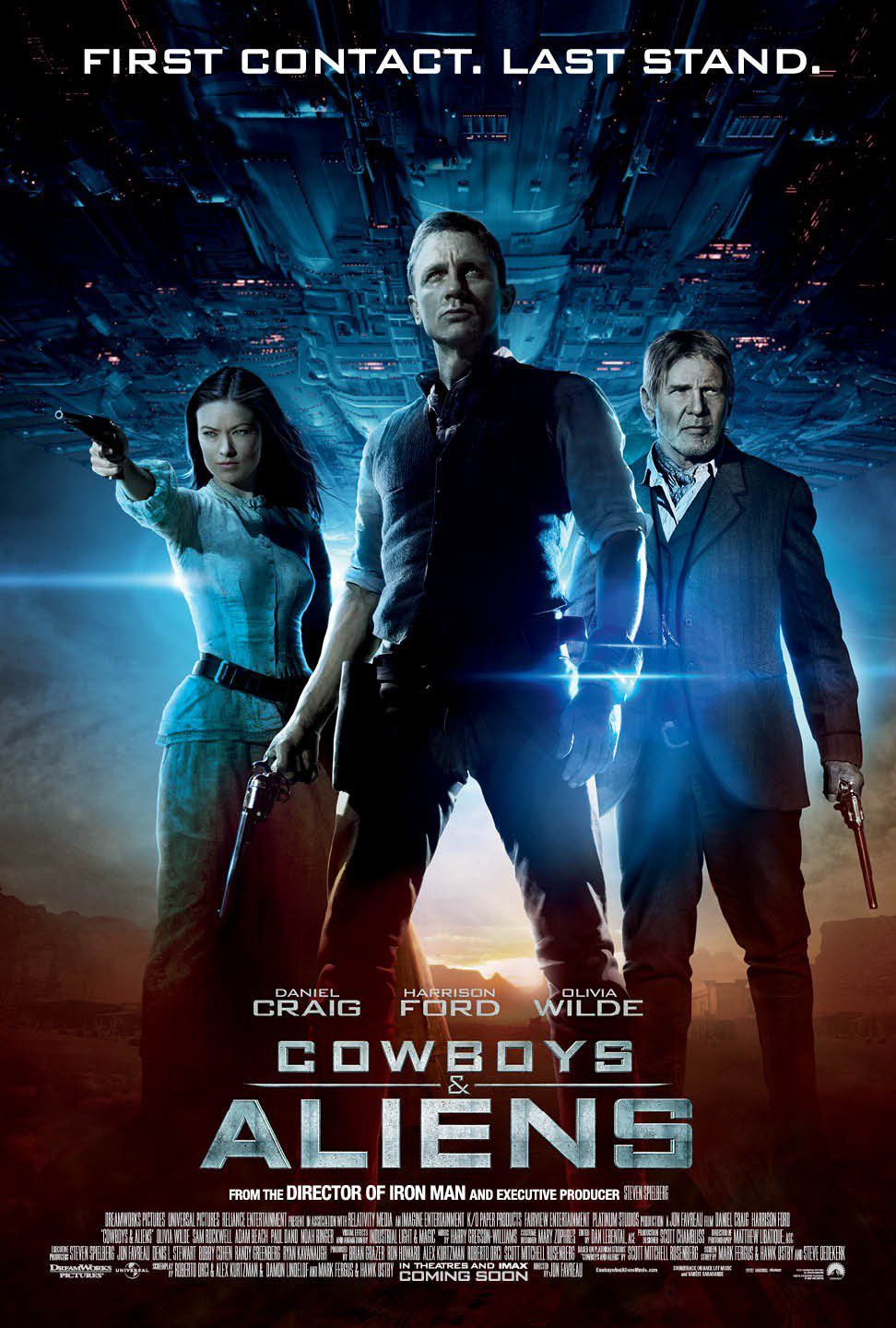 Cowboys & Aliens - Technical Director - Lighting & Effects @ Industrial Light & Magic SF