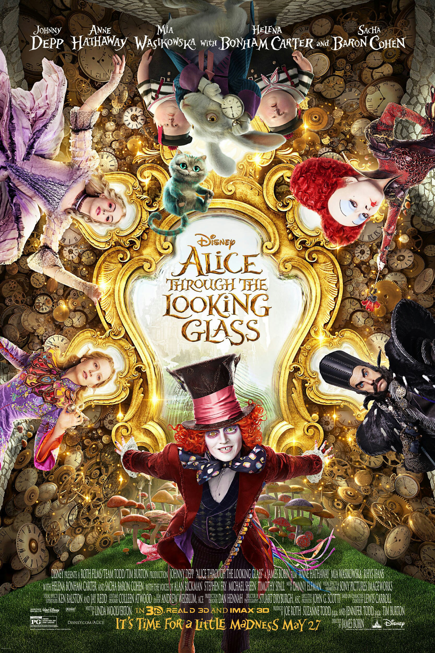 Alice Through The Looking Glass - Lighting Lead & Lookdev Artist @ Sony Pictures Imageworks