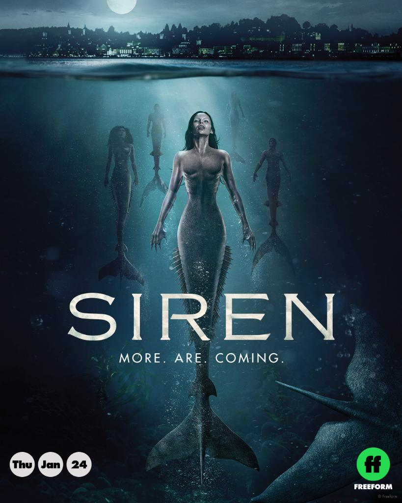 Siren - Season 2 - Head of CG & CG Supervisor @ PIXOMONDO Vancouver