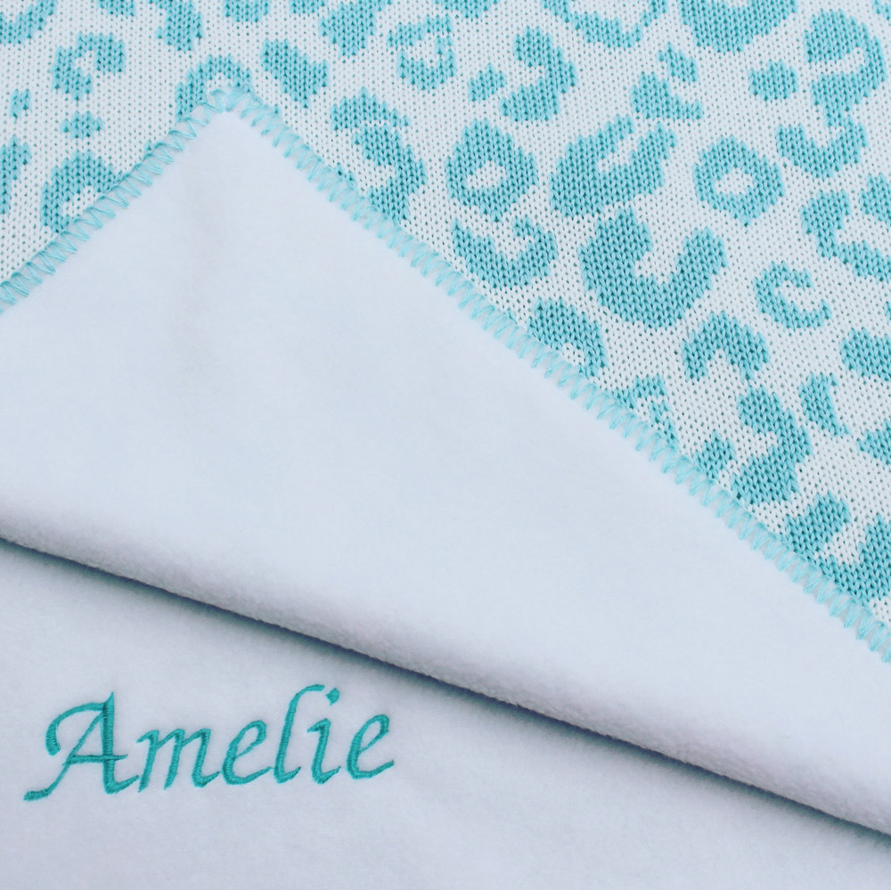 girls personalised baby blankets