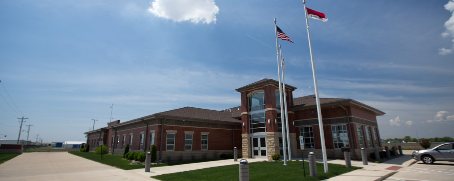 Morton Fire Department Facility, Courtland Avenue, Morton. Photo by Kevin May