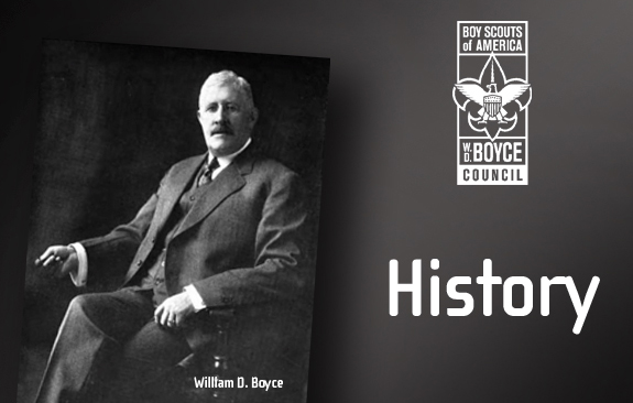 William D. Boyce, Founder of the  Boy Scouts of America