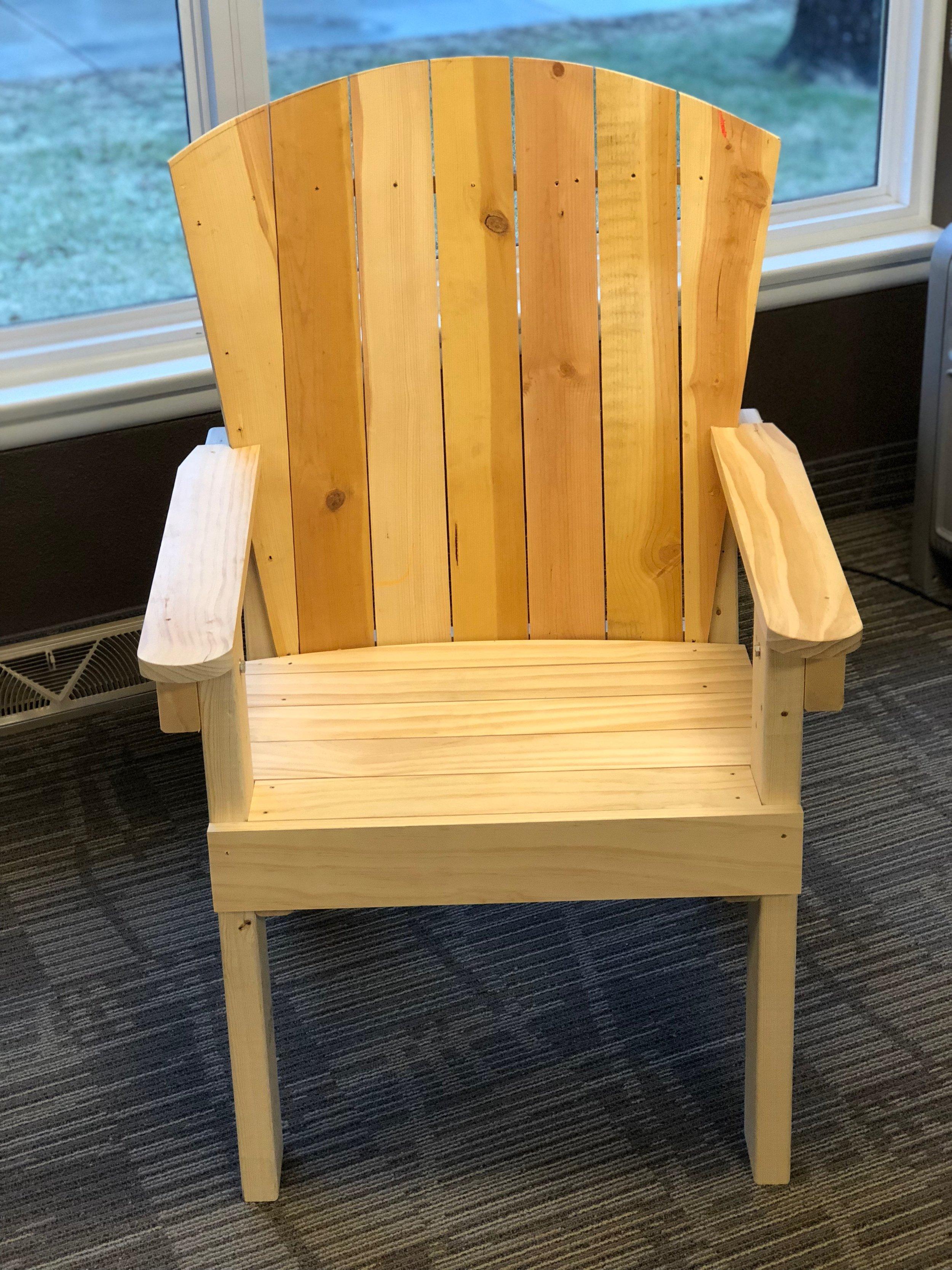 Prototype MCF Chair